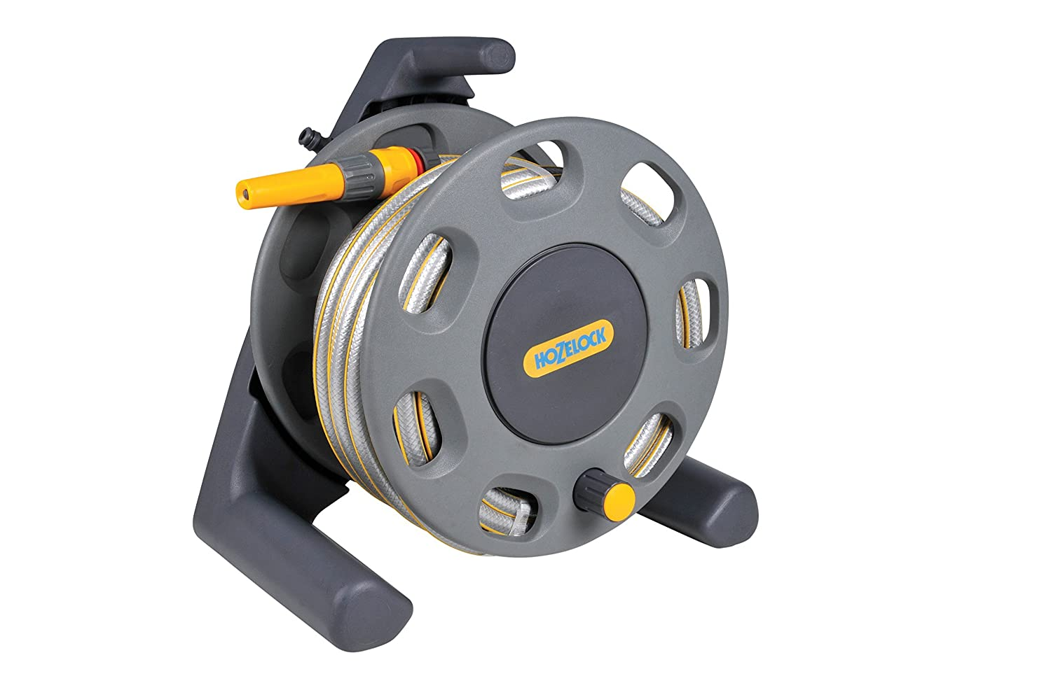 Hozelock 30m Compact Reel with 20m Hose Hozelock Ltd 2412R3444 Gardening Hoses