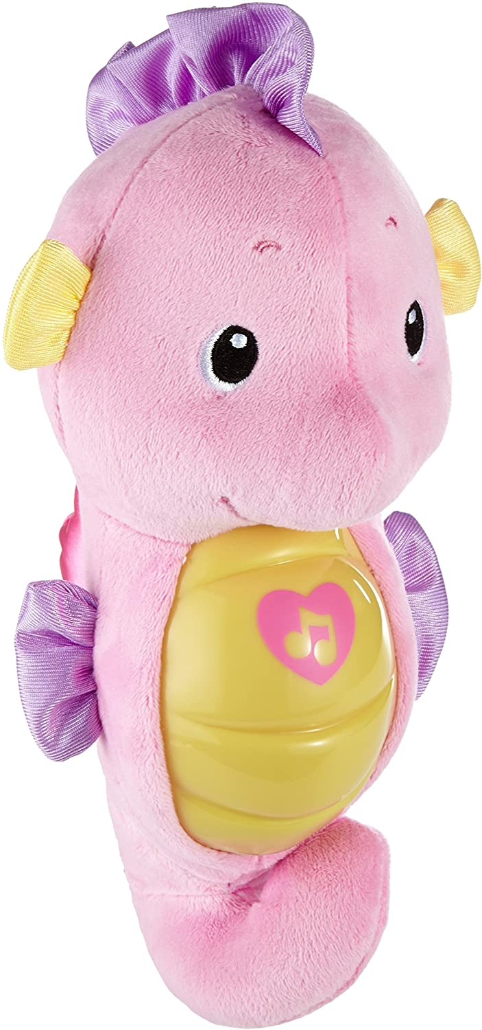 Fisher-Price Soothe and Glow Seahorse, Pink Mattel DGH85