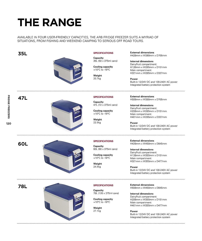 81ImmIOODnL._SL1500_ amazon com arb fridge freezer 50 quart bundle with arb wireless arb fridge wiring diagram at bakdesigns.co