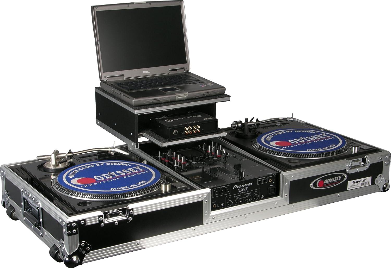 Odyssey fzgsbm10 W Vuelo Zona Glide estilo ata DJ Ataúd con ruedas ...