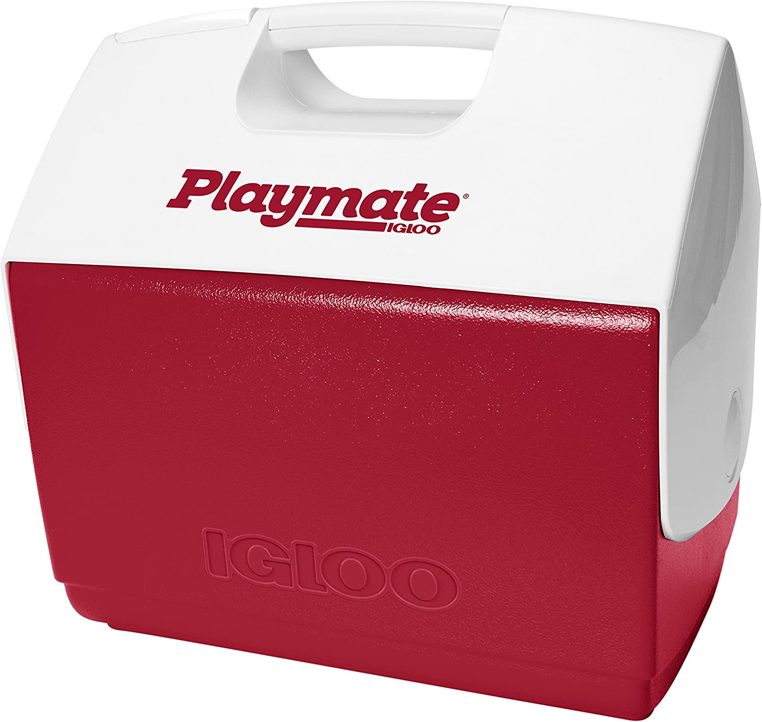 Igloo Playmate Elite 16 Qt. Personal Sized Cooler, Red body with white lid – 43362