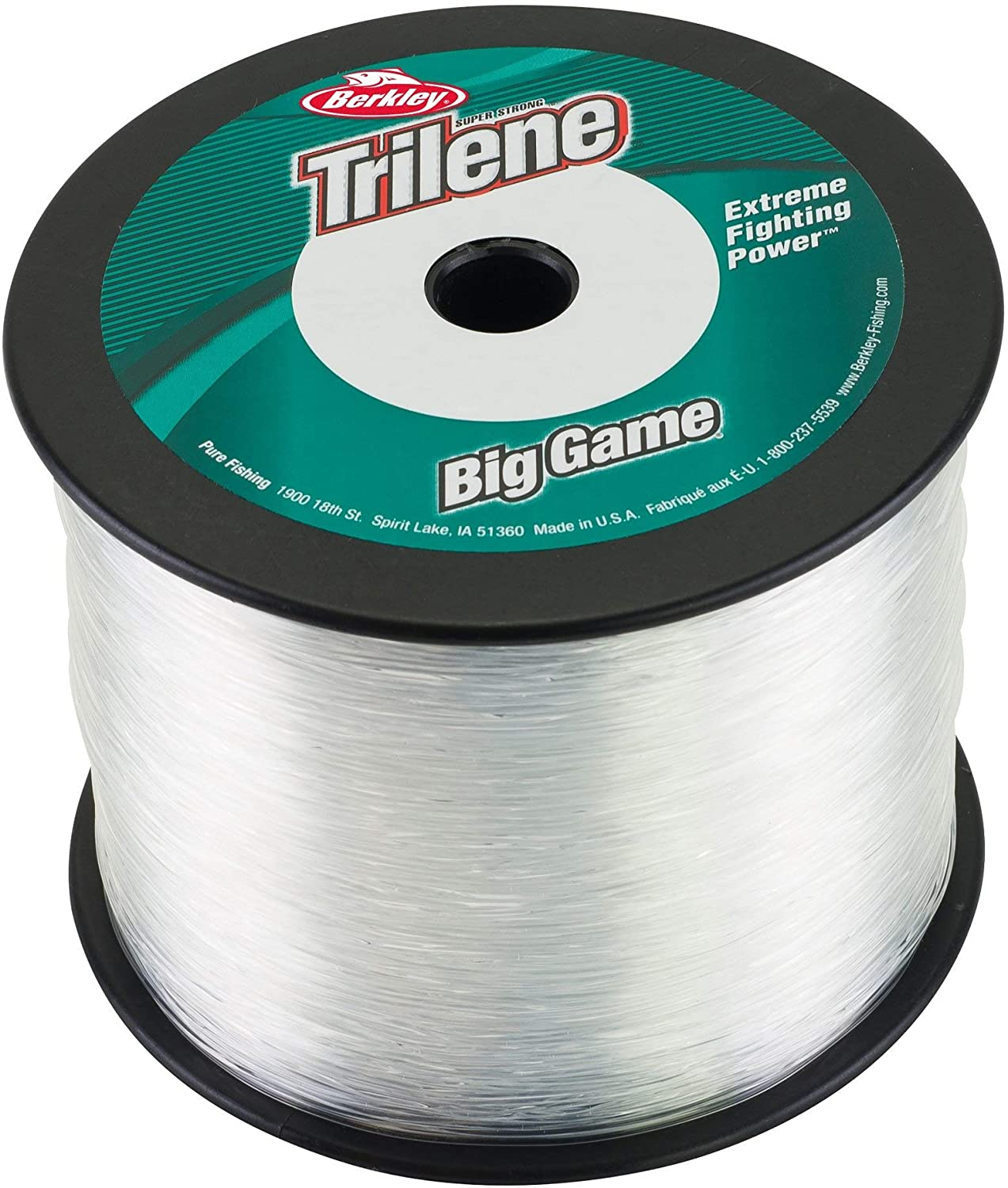 Berkeley Triline Big Game Monofilament Custom Spool