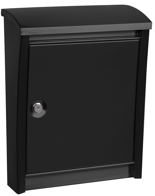 Arregui E5904 Buzó n de Exterior de Acero, Negro, 405 x 310 x 155 mm