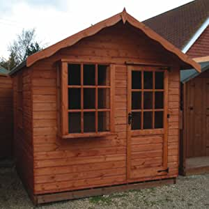 TGB 5ft x 12ft (1.52m x 3.66m) Harewood 22mm Summerhouse