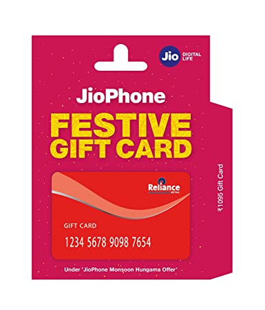 912b683a5 JioPhone Gift Card - Rs.1095  Amazon.in  Gift Cards