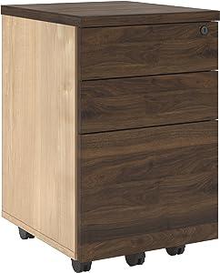 Ameriwood Home File Cabinet, Walnut