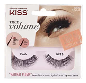 5f9168cf410 Amazon.com : Kiss Products True Volume Lash, Posh, 0.03 Pounds : Beauty