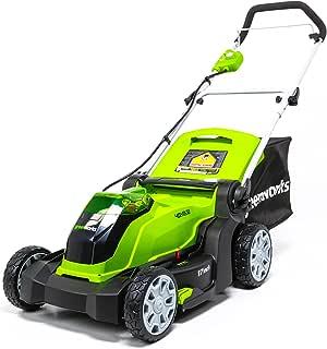 Greenworks G-MAX 40V 17'' Cordless Lawn Mower - MO40B01 model