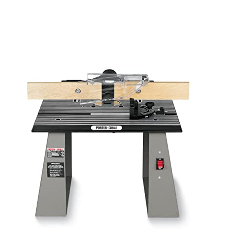 PORTER-CABLE 698 Bench Top Router Table review