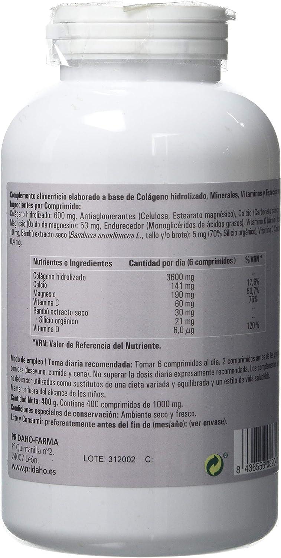 PHYTOFARMA Colageno Hidrolizado 400 comprimidos: Amazon.es: Salud y cuidado personal