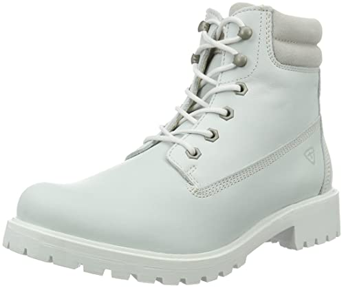 Tamaris 252, Botines para Mujer, Blanco (White Uni 120), 42 EU: Amazon.es: Zapatos y complementos