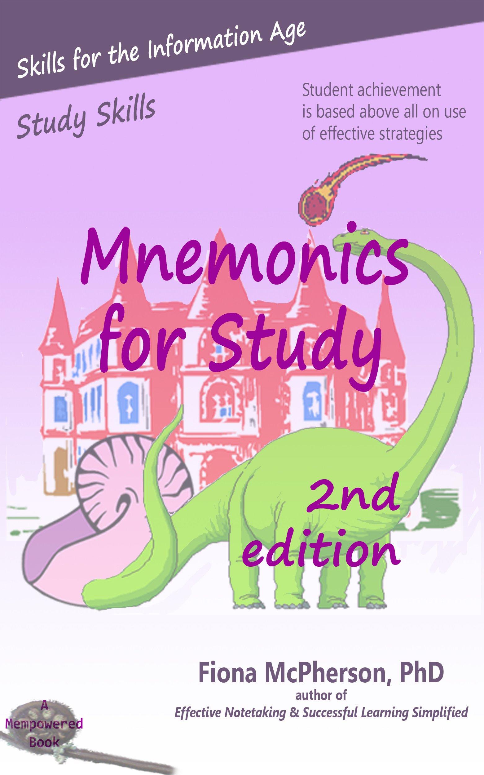 Mnemonics For Study  2nd Ed.   Study Skills   English Edition