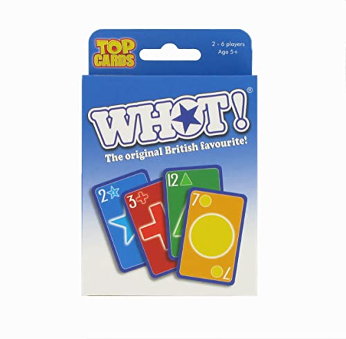 Winning Moves WHOT! Travel Tuckbox Card Game