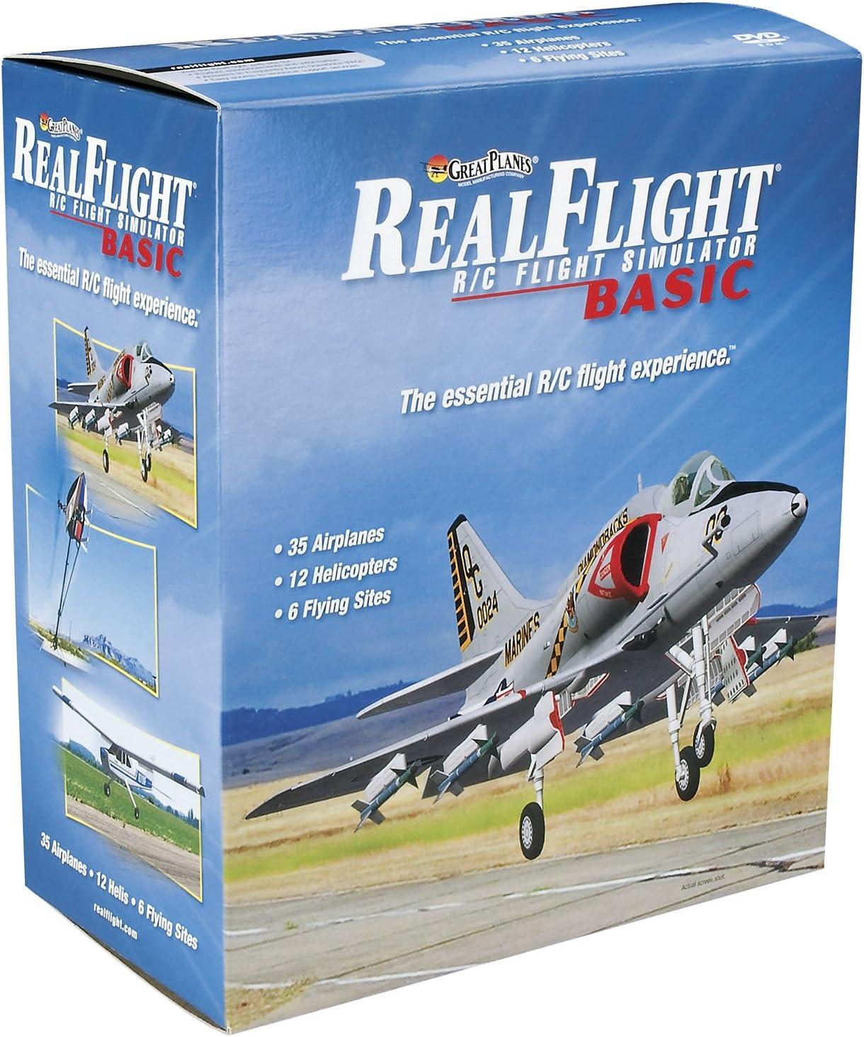 RFL1000 RealFlight 8 Horizon Hobby Edition Modellflugsimulator
