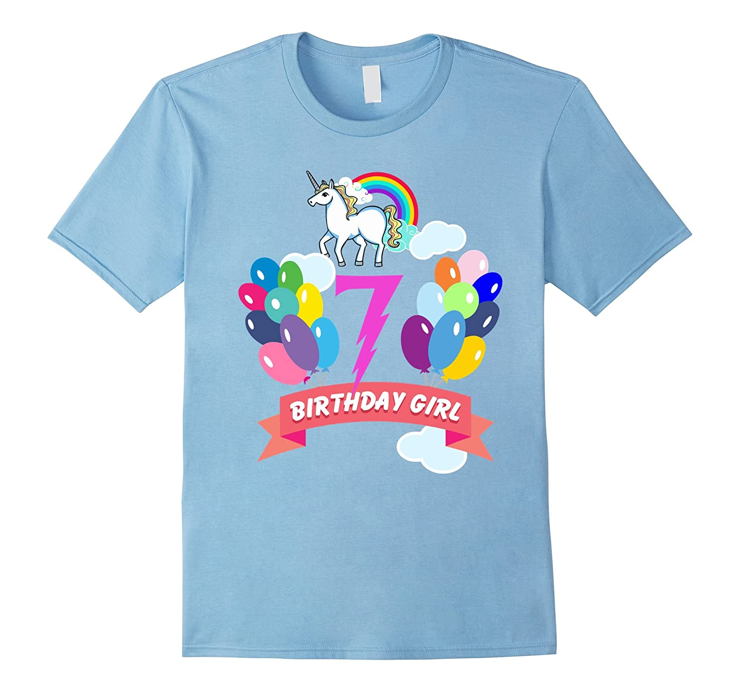 7th Birthday Unicorn Shirt BN