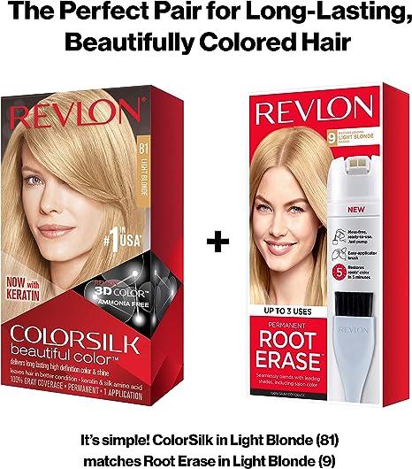 Revlon colorsilk Beautiful Color, 81 Rubio claro