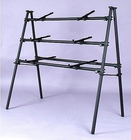 3D-120B soporte para 3 teclados negro