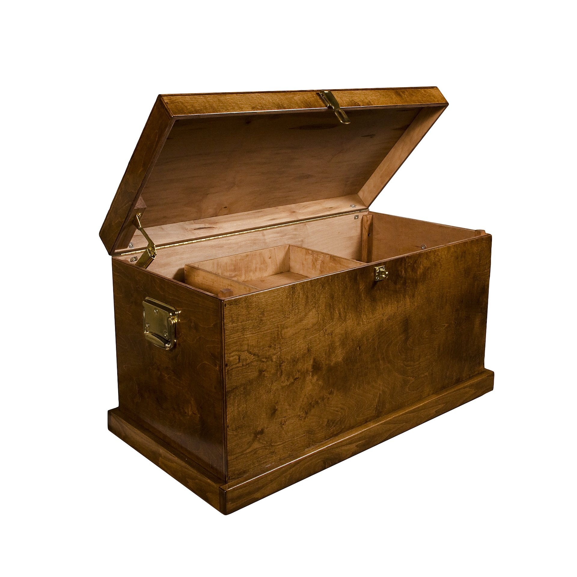 Horse Fare Products Starter Wood Tack Trunk