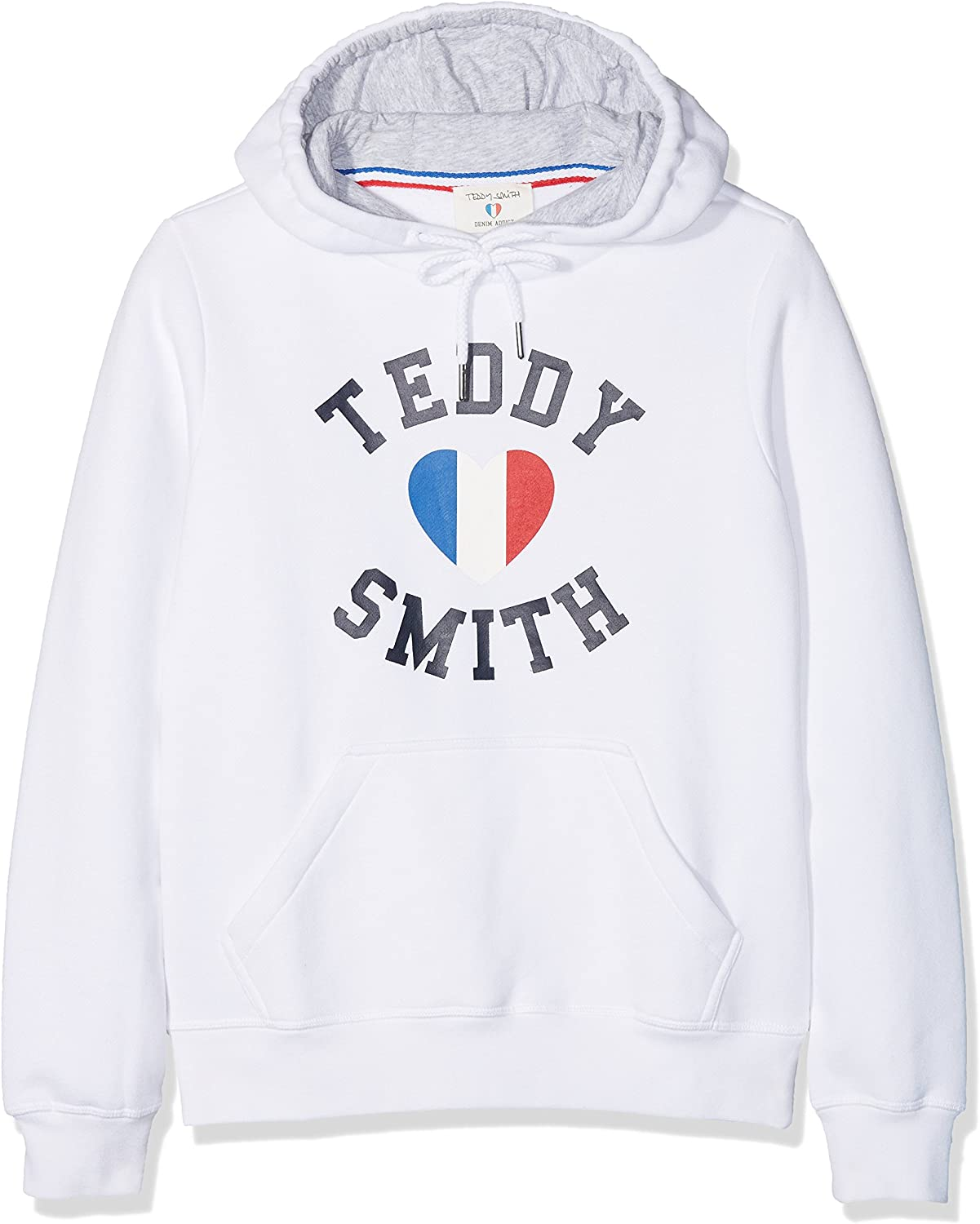 Teddy Smith SOFRENCH JR Sweat-Shirt à Capuche,