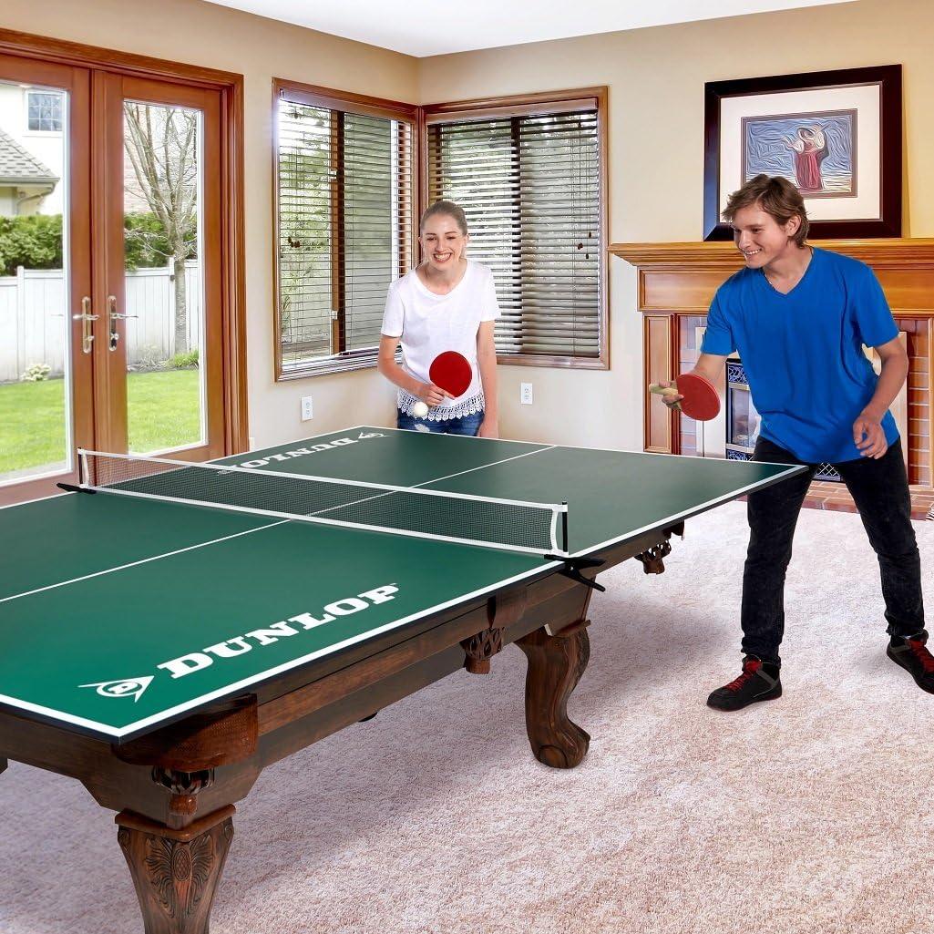 DUNLOP Official Size Table Tennis Conversion Top Premium Clamp Style Net Post