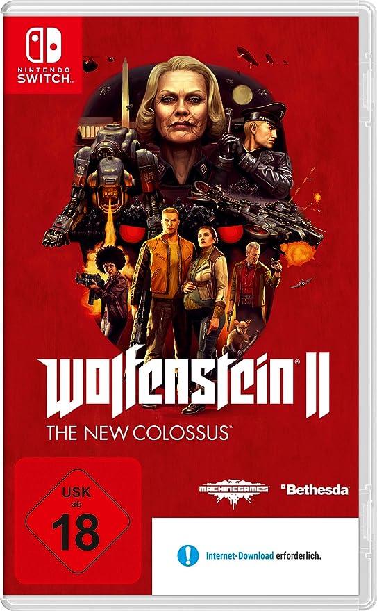 Wolfenstein II: The New Colossus - Nintendo Switch [Importación ...