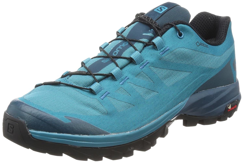 Salomon Damen Outpath GTX W Trekking- & Wanderhalbschuhe blau 7 UK