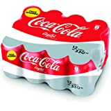 Coca-Cola - Light, Lata 330 ml (Pack de 12)