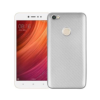 Funluna Funda Xiaomi Redmi Note 5A, Carcasa Redmi Note 5A Prime, Amortiguador de Parachoques con Fibra De Carbono y Silicona Cubierta Case para Xiaomi ...