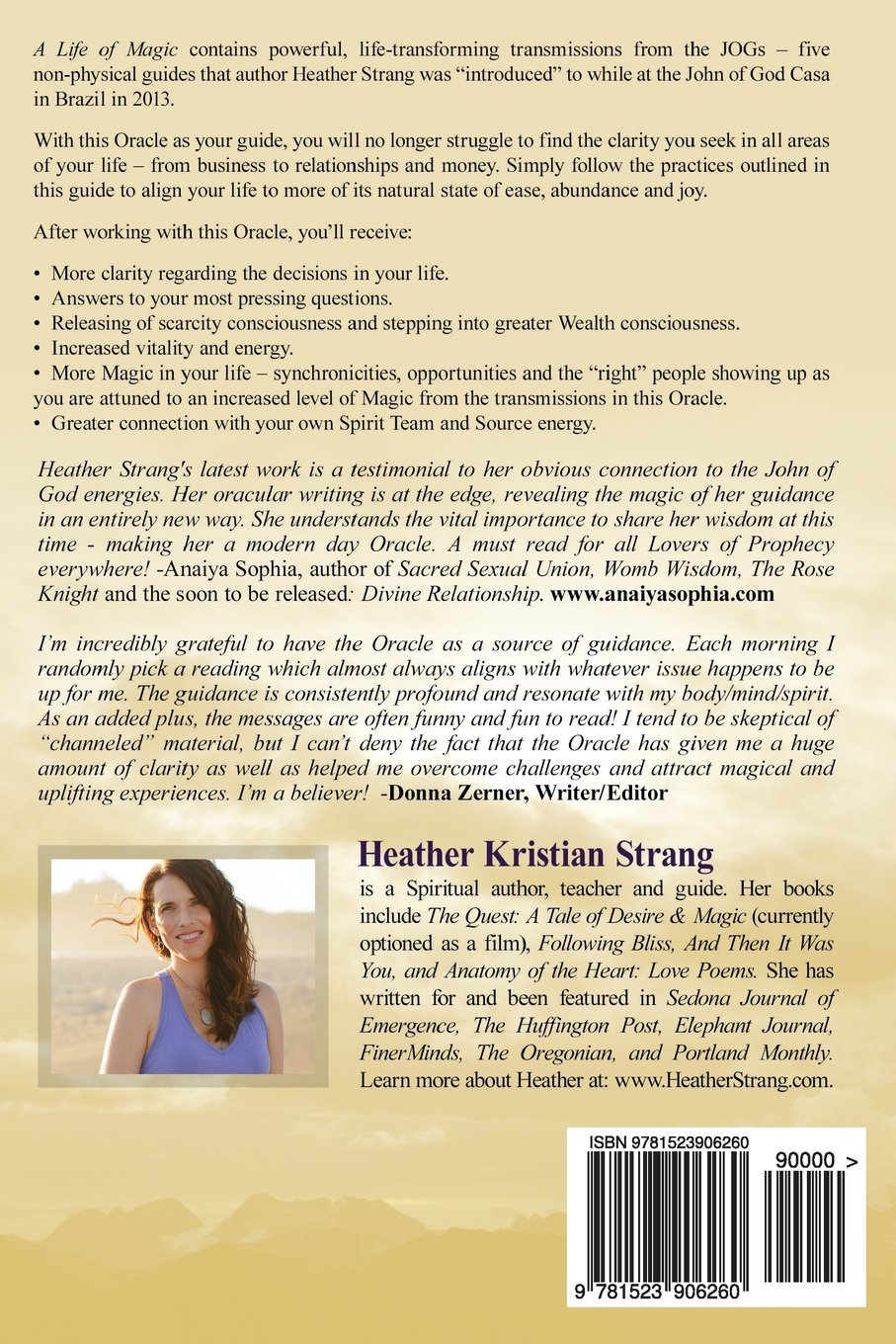 A Life Of Magic An Oracle For Spirit Led Living Heather Kristian