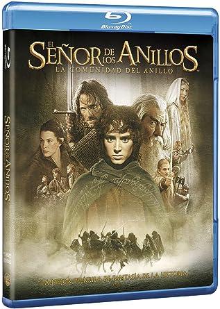 El Señor De Los Anillos: La Comunidad Del Anillo Blu-Ray Edición ...