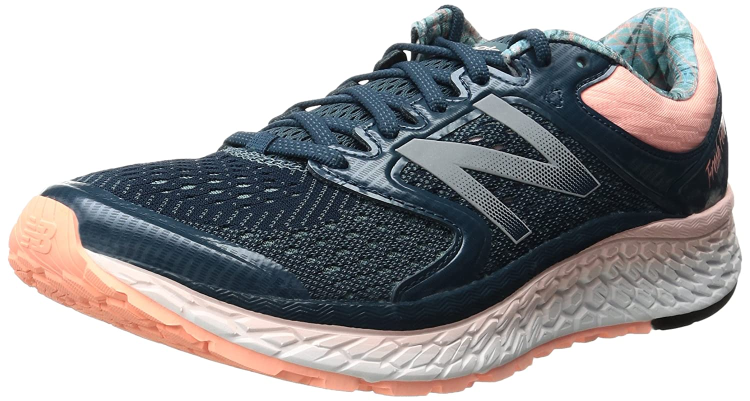 New Balance Women's Fresh Foam 1080v7 Running Shoe B01FSIXYYM 9 B(M) US|Supercell/Sunrise