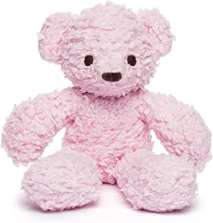 product image for Bears for Humanity Organic Sherpa Bear Plush Animal Toy, Pink, 12""