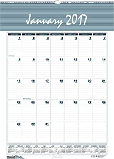 """product image for House of Doolittle 2017 Monthly Wall Calendar, Bar Harbor, 15.5"""" x 22"""" (HOD333-17)"""
