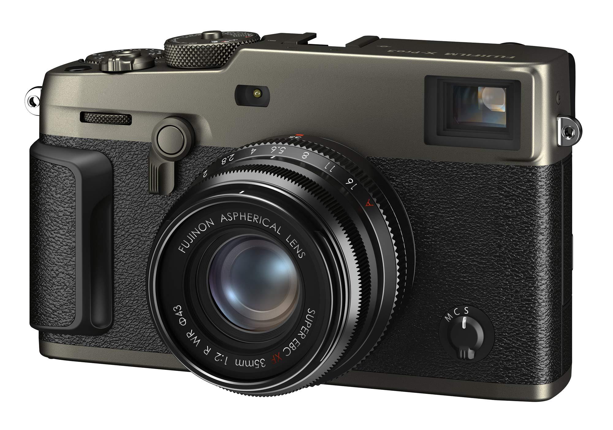 Fujifilm X-Pro3 Mirrorless Digital Camera - Dura Black (Body Only) by Fujifilm
