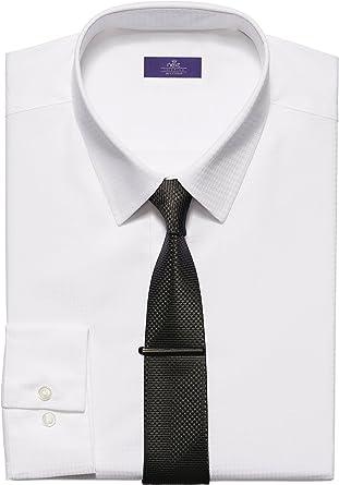 next Hombre Conjunto De Camisa Blanca De Algodón, Gemelos Y Alfiler De Corbata Formal Casual: Amazon.es: Ropa y accesorios