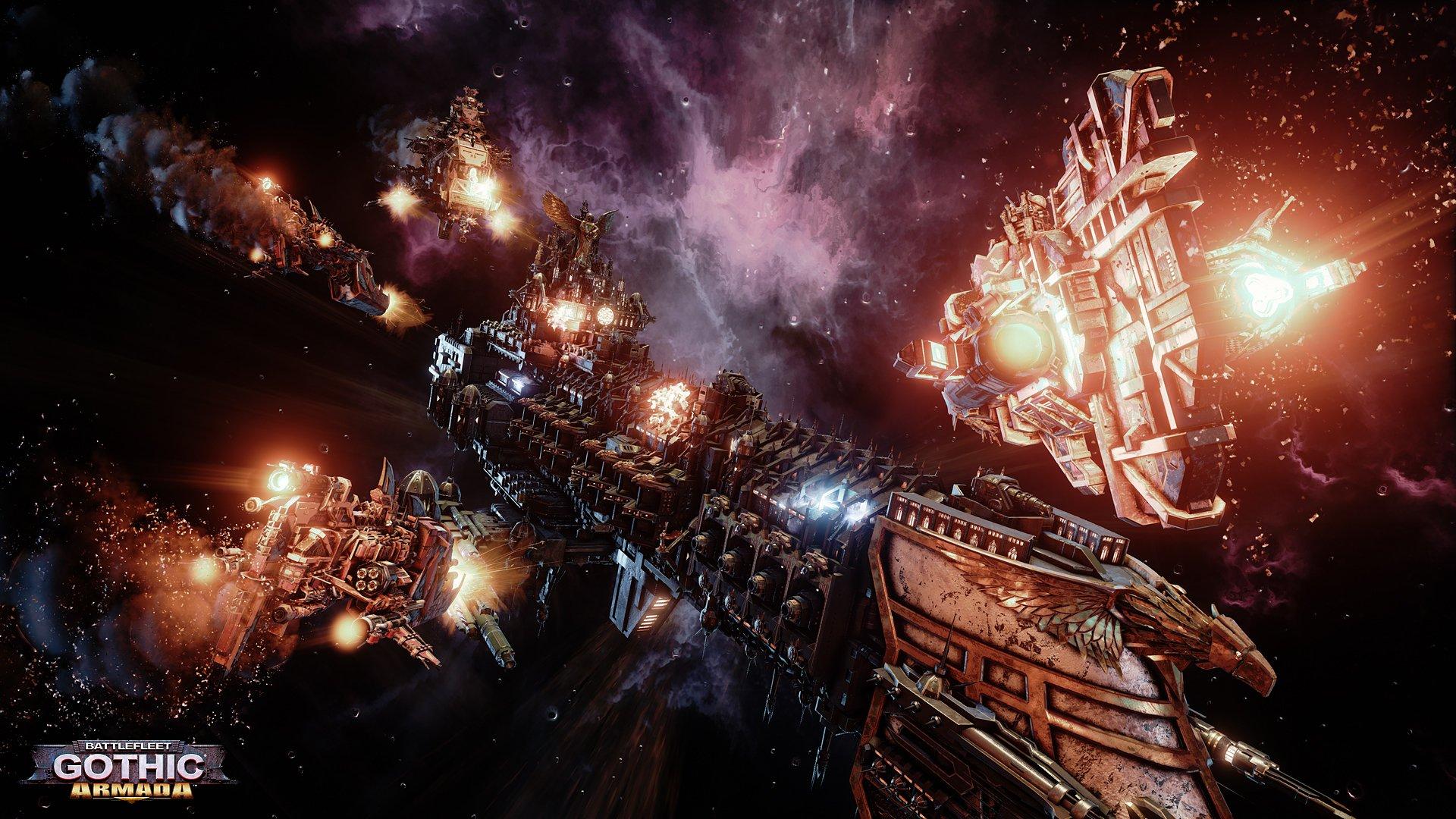 Amazon com: Battlefleet Gothic Armada [Online Game Code]: Video Games