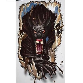 goth halloween horror prop werewolf floor wall grabber monster window decoration