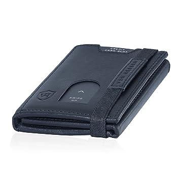 4cd5e06acf1f7 VON HEESEN Mini Kartenetui Mit Münzfach 5-10 Karten - RFID-Schutz - Made