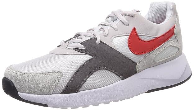 Mens Pantheos Gymnastics Shoes, Grey (Vapste Grey/Habanero Red/White/Gun Smoke 004), 6 UK Nike