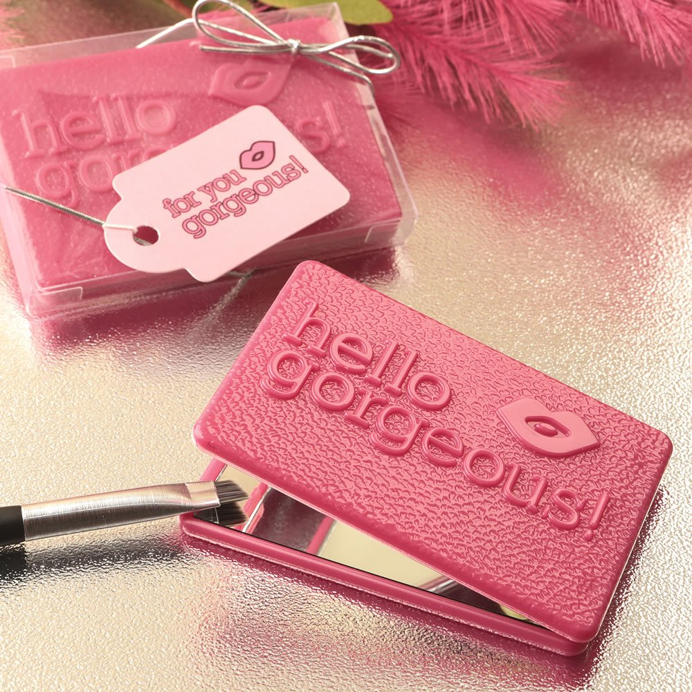 116 Hello Gorgeous Themed Compact Mirrors