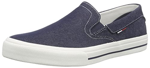 Hilfiger DenimV2385IC 3F - Mocasines Hombre, Color Azul, Talla 46 EU: Amazon.es: Zapatos y complementos