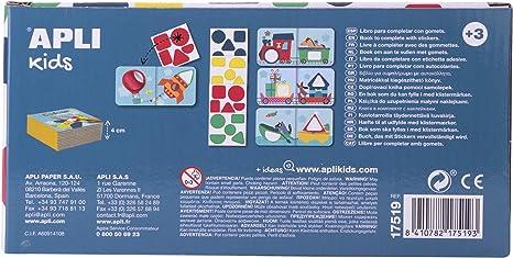 APLI Kids - Mi primer libro con gomets, Vehiculos: Amazon.es ...