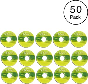 Aerogarden Compatible Pod Labels 50 Pack | No Ironing Needed | Peel and Stick | Works on All Aerogarden Pods | EZ Labels for All Aerogarden Seed Pods by EZ-gro