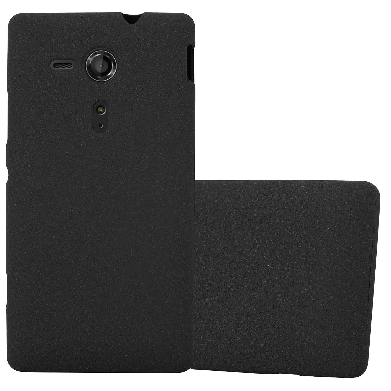 a7c21ad3564 Cadorabo Funda para Sony Xperia SP en Frost Negro: Amazon.es: Electrónica