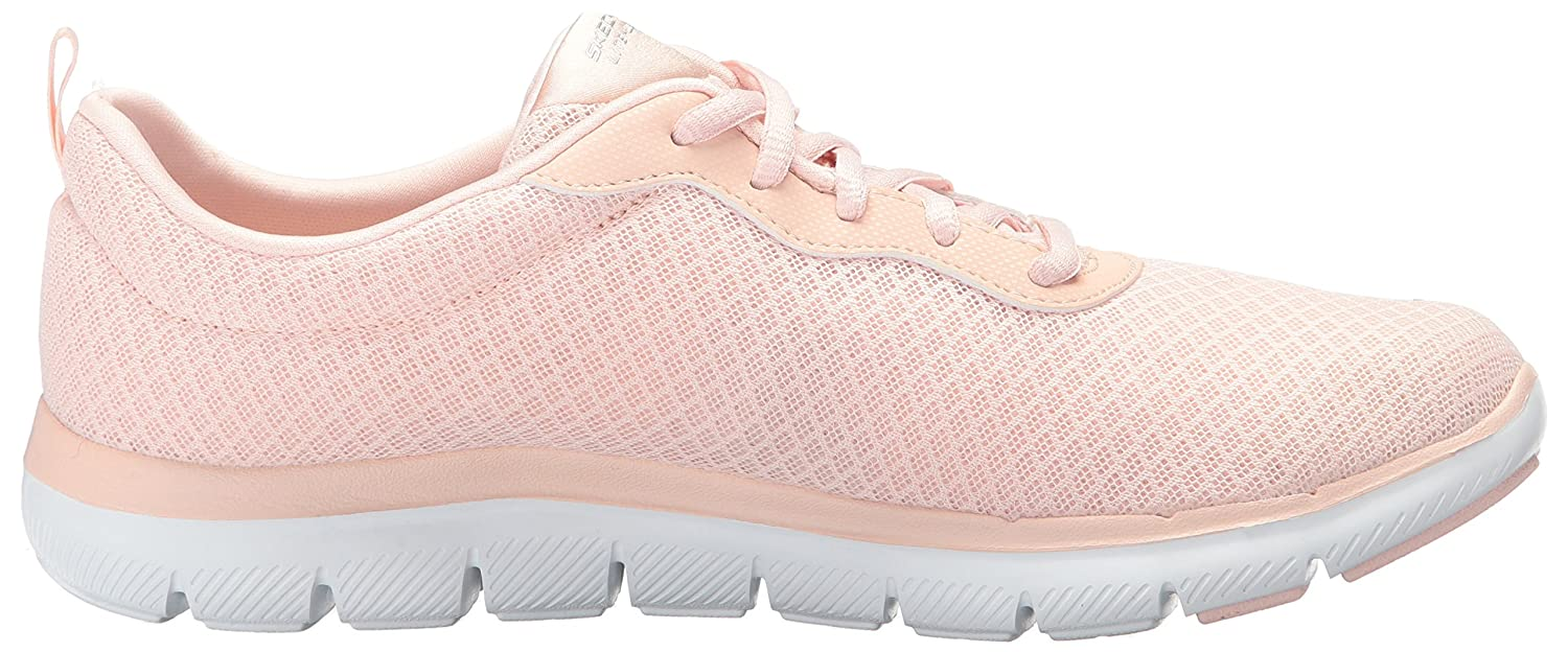 Skechers Women's Flex Appeal 2.0 Newsmaker Sneaker B071WTWQPQ 11 B(M) US|Light Pink