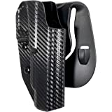 Black Scorpion Outdoor Gear OWB Kydex Paddle Holster fits Canik TP9SFx | Outside The Waistband Concealed Carry Holster