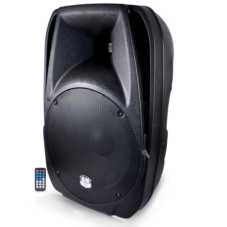 Altavoz amplificado 38cm / 15900W, USB/Bluetooth SD BM SONIC