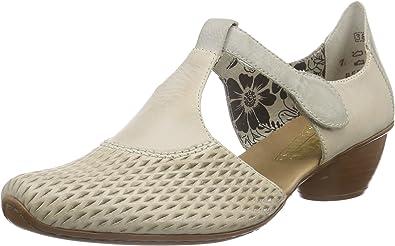 Chaussures /à Talons-Avant du Pieds Couvert Femme Rieker 43736 Women Closed-Toe
