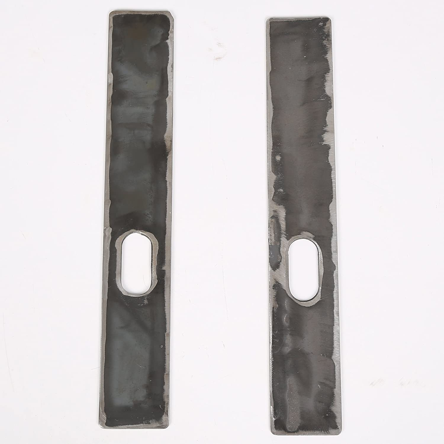 Ecotric 6 Pc Frame Repair Rusted Shackle Weld Plates Cj5 1986 1995 Jeep Wrangler Yj Rearwith One Year Warranty Automotive