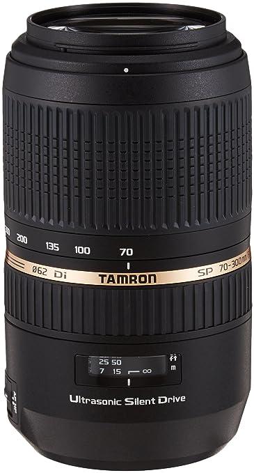 963 opinioni per Tamron A005S Obiettivo per Sony, SP AF 70- 300 mm, F/4-5.6 Di VC USD, Nero